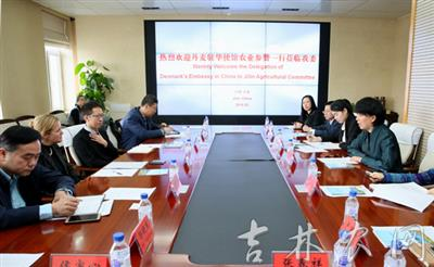 刘丰艳副主任会见丹麦客人